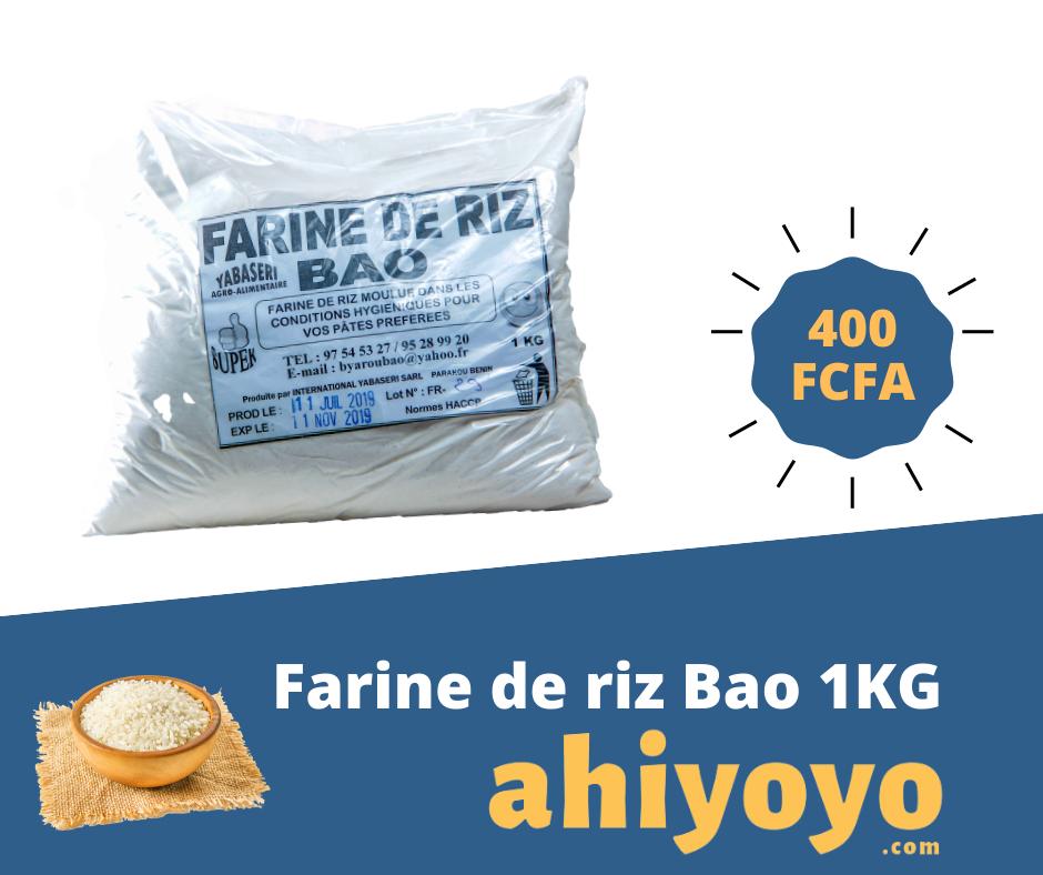 Farine de riz Bao 1KG | Ahiyoyo.com